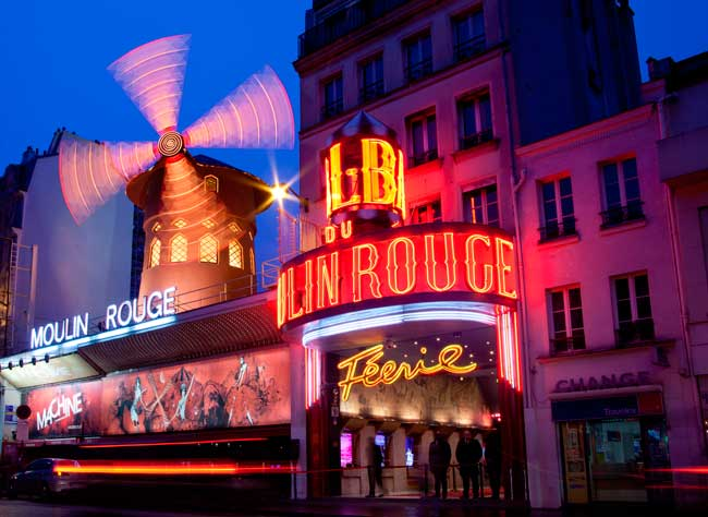 The Moulin Rouge is a popular spot in Paris, you should definitely visit it!