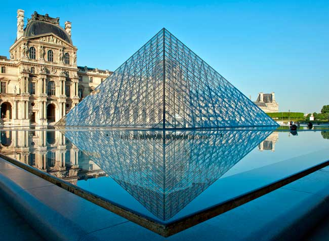 The Louvre is the most visited art museum in the world.